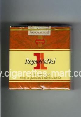 1 (german version) Reynolds No 1 (design 2) ( soft box cigarettes )