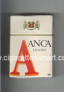 A Anca (Leight) ( hard box cigarettes )