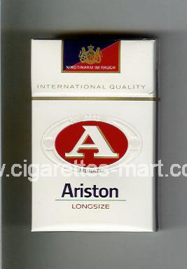 A Ariston (International Quality) ( hard box cigarettes )