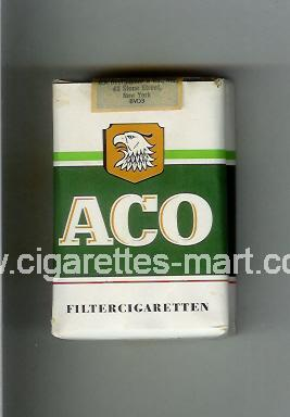 Aco ( soft box cigarettes )