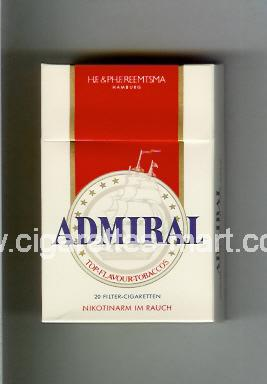 Admiral (german version) ( hard box cigarettes )