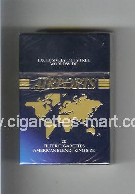 Airports (American Blend) ( hard box cigarettes )