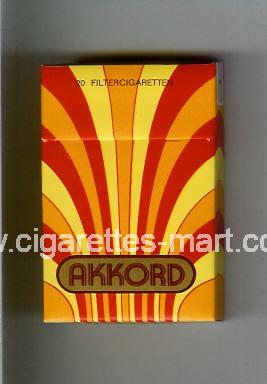 Akkord ( hard box cigarettes )