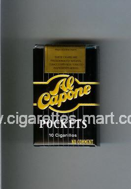 Al Capone (design 1) Pockets ( soft box cigarettes )