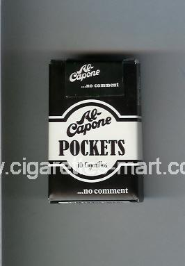 Al-Capone (design 2) Pockets ( soft box cigarettes )