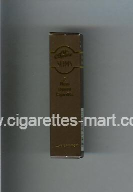 Al-Capone (design 2) (Slims / Rum Dipped) ( hard box cigarettes )