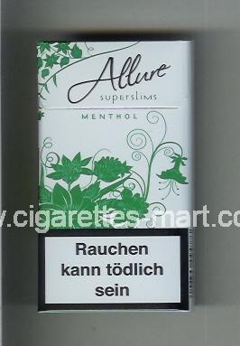 Allure (Superslims / Menthol) ( hard box cigarettes )