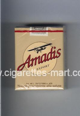 Amadis (german version) (Export) ( soft box cigarettes )