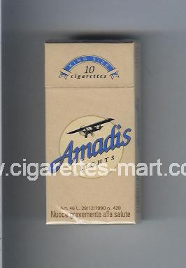 Amadis (german version) (Lights) ( hard box cigarettes )