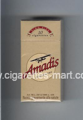 Amadis (german version) (Superfiltre) ( hard box cigarettes )