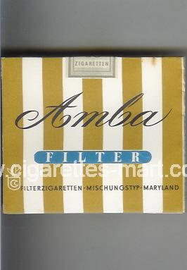 Amba (Filter) ( box cigarettes )
