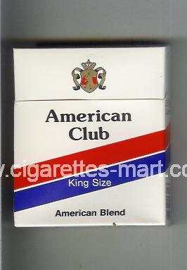 American Club (german version) (design 1) (American Blend) ( hard box cigarettes )
