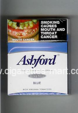 Ashford (design 1) (Blue) ( hard box cigarettes )