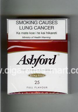 Ashford (design 1) (Full Flavour) ( hard box cigarettes )