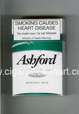 Ashford (design 1) (Menthol Mild) ( hard box cigarettes )