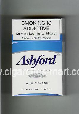 Ashford (design 1) (Mild Flavour) ( hard box cigarettes )