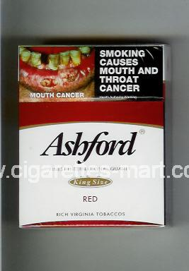 Ashford (design 1) (Red) ( hard box cigarettes )