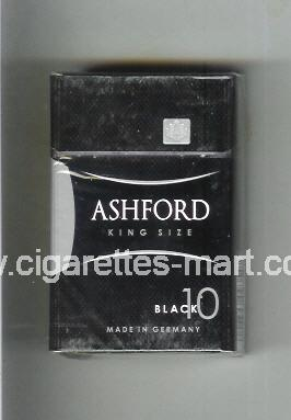 Ashford (design 2) (Black 10) ( hard box cigarettes )