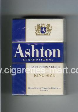 Ashton (International) ( hard box cigarettes )
