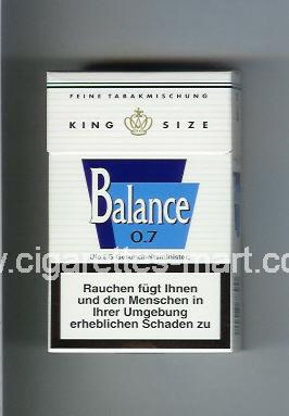 Balance (design 1) 0,7 ( hard box cigarettes )