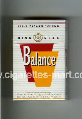 Balance (design 1) ( hard box cigarettes )