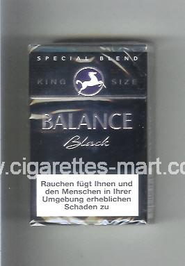 Balance (design 2) (Black) ( hard box cigarettes )