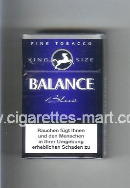 Balance (design 2) (Blue) ( hard box cigarettes )