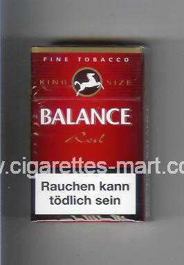 Balance (design 2) (Red) ( hard box cigarettes )