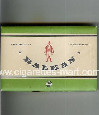 Balkan (german version) ( box cigarettes )