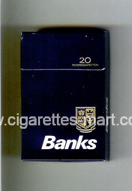 Banks ( hard box cigarettes )