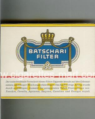 Batschari (german version) (Filter) ( box cigarettes )
