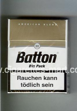 Batton (design 1) (American Blend) ( hard box cigarettes )