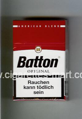 Batton (design 1) (American Blend / Original) ( hard box cigarettes )