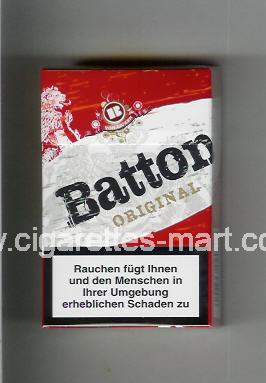 Batton (design 2) (Original) ( hard box cigarettes )
