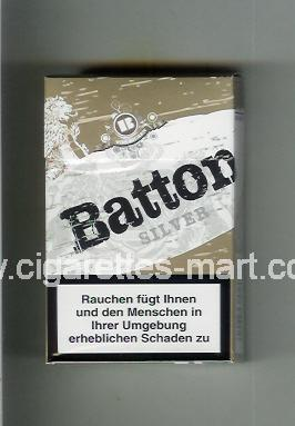 Batton (design 2) (Silver) ( hard box cigarettes )