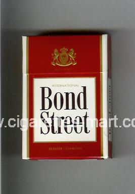 Bond Street (german version) (design 2) (International) ( hard box cigarettes )