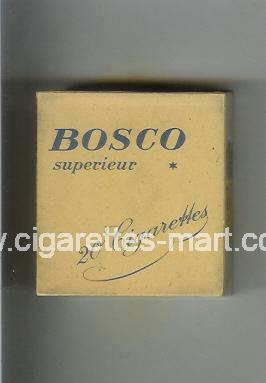 Bosco (design 1) (Superieur) ( hard box cigarettes )