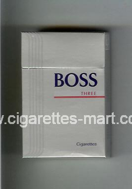 Boss (german version) (design 3) (Three) ( hard box cigarettes )