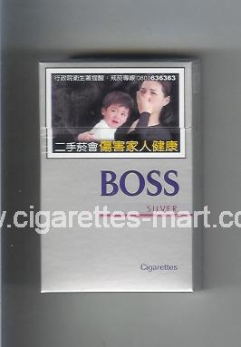 Boss (german version) (design 3A) (Silver) ( hard box cigarettes )
