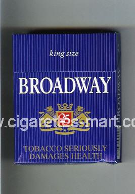 Broadway (german version) (King Size) ( hard box cigarettes )