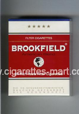 Brookfield (American Blend) ( hard box cigarettes )