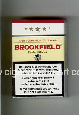 Brookfield (Gold Blend) ( hard box cigarettes )