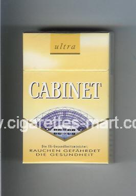 Cabinet (german version) (collection design 1B) (Ultra / … Leipzig) ( hard box cigarettes )