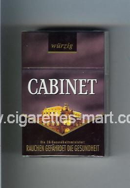 Cabinet (german version) (collection design 1C) (Wurzig / … Dresden) ( hard box cigarettes )