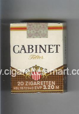 Cabinet (german version) (design 1) (Filter) ( soft box cigarettes )