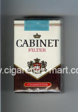 Cabinet (german version) (design 2) (Filter) ( soft box cigarettes )