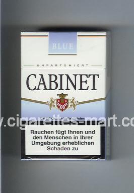 Cabinet (german version) (design 3) (Blue) ( hard box cigarettes )