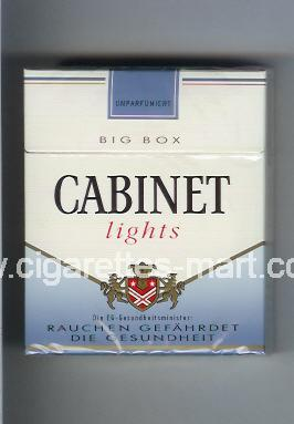 Cabinet (german version) (design 3) (Lights) ( hard box cigarettes )