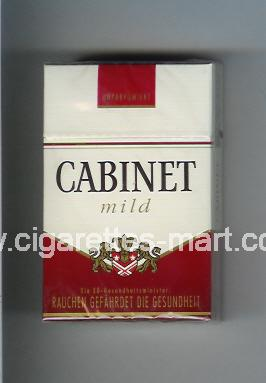 Cabinet (german version) (design 3) (Mild) ( hard box cigarettes )