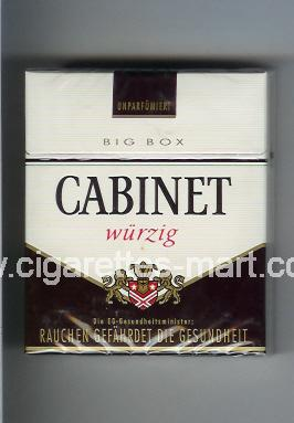 Cabinet (german version) (design 3) (Wurzig) ( hard box cigarettes )